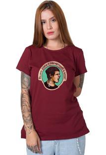 Camiseta Cássia Eller Bordô