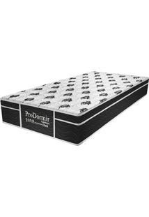 Colchão Solteiro Pillow Top Prodormir Dark - Probel - Branco / Black