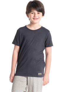 Pijama Infantil Masculino Curto Estampado Henrique