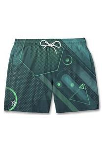 Bermuda Short Masculino Formas Verde Nexstar
