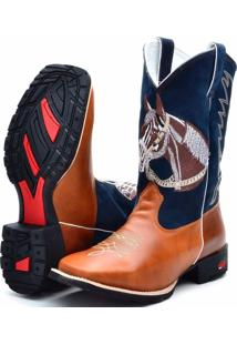 Bota Country Texana Ramon Boots Azul