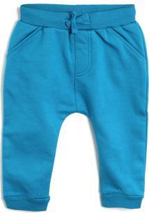 Calça De Moletom Tip Top Menino Estampa Posterior Azul