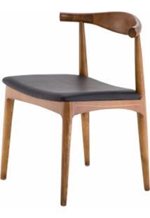 Cadeira Carina Sem Braco Cor Madeira Natural - 23843 - Sun House