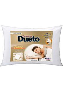 Travesseiro Dueto - Ortobom Branco