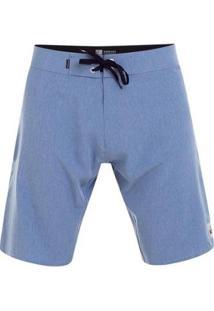 Boardshort Kaimana Heather 20 - Preto - 44 - Masculino-Azul