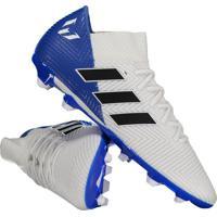 890c57b0497dd Chuteira Adidas Nemeziz Messi 18.3 Fg Campo Branca