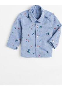 Camisa Bb Espaco De Ceu Reserva Mini Masculina - Masculino