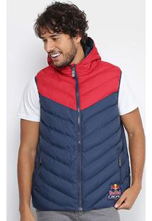 Colete Red Bull Puffer Racing Bicolor Masculino - Masculino