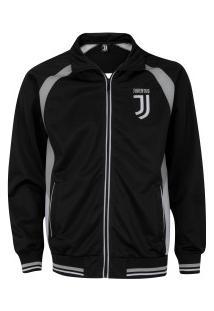 Jaqueta Juventus Trilobal - Masculina - Preto/Branco