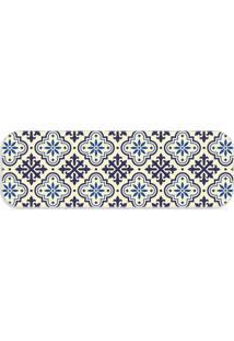 Passadeira Love Decor Premium Ladrilho Blue ÚNico - Azul - Dafiti