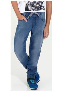 Calça Infantil Jeans Elástico Marisa