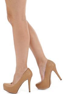 Sapato Salto Fino Meia Pata Lara