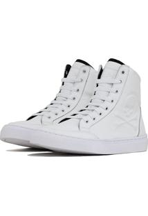 Tênis Sneaker K3 Fitness Crazzy Branco