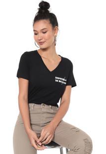 Camiseta Mob Lettering Preta