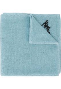 Dsquared2 Cachecol Com Logo - Azul