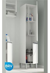Armário Multiuso 2 Portas Bs 34 Branco - Brv Móveis