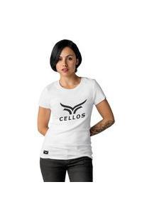 Camiseta Feminina Cellos Classic Ii Premium W Branco
