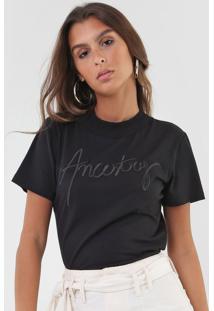 Camiseta Forum Ancestry Preta - Kanui