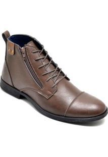 Bota Dress Boot Masculino Eco Canyon Broklin - Masculino-Café