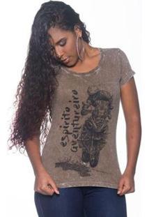 Camiseta Moto Lovers Espirito Aventureiro Feminina - Feminino