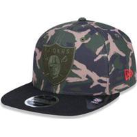 Boné 950 A-Frame Oakland Raiders Nfl Aba Reta Snapback Militar New Era -  Masculino fa34d848468e4