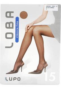 Meia-Calça Fio 15 Lupo 5760-01 - Bege