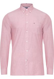 Camisa Masculina Fil Shirt - Rosa