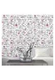 Papel De Parede Autocolante Rolo 0,58 X 5M - Corações 76946176