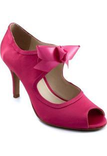 Peep Toe De Noiva Belmon - 6050 - Feminino-Pink