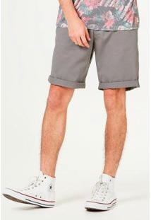 Bermuda Slim Com Cinto Masculina - Masculino
