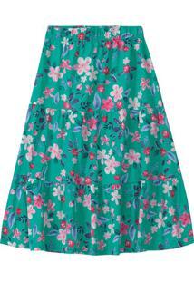 Conjunto Longo Floral Menina Malwee Kids