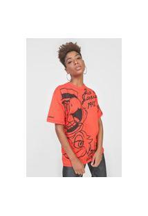 Camiseta Colcci Disney Vermelha