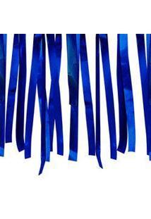 Varal De Fitas Metalizadas Azul 10 Metros