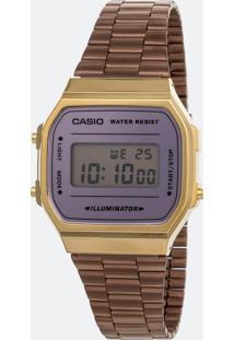 Relógio Unissex Casio Vintage A168Wecm-5Df-Br Digital