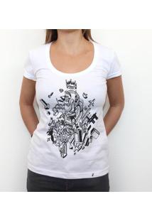 Coisas - Camiseta Clássica Feminina