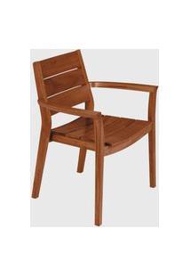 Cadeira C/ Bracos Toscana Tramontina Caramelo