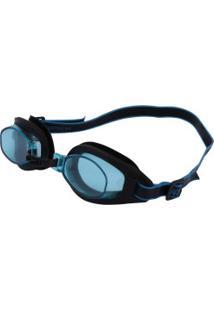Óculos De Natação Speedo Freestyle 3.0 - Adulto - Preto/Azul