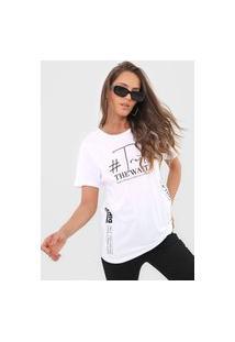 Camiseta Dimy Trust The Wait Branca
