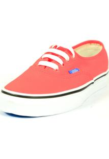 Tênis Caráter Vans Authentic Coral French Coral