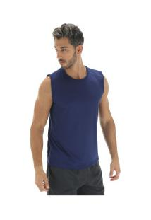 Camiseta Regata Oxer Basic Light - Masculina - Azul Escuro