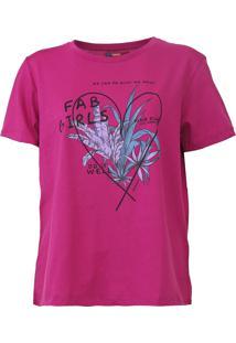 Camiseta Sommer Girls Pink