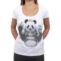 81177c6ad9 El Cabriton. Punk Panda - Camiseta Clássica Feminina