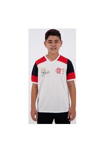 Camisa Flamengo Retrô Zico Infantil