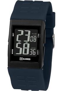 Relógio Digital Quartz Xgppd121Pxdx- Preto & Azul Marinhorient