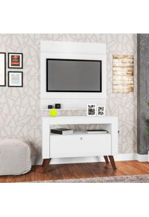 Rack Com Painel Para Tv 36 Polegadas Canadá Branco