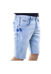 Bermuda Jeans Masculina Confort Crocker- 48282
