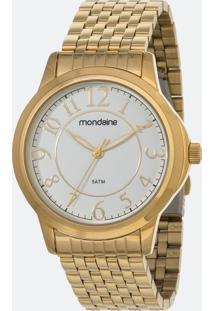 Kit Relógio Feminino Mondaine 83337Lpmvde2Kd Analógico 5Atm + Conjunto Semijóia