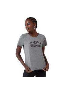 Camiseta Comfy Big Logo Olympikus Feminino