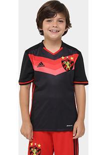 Camisa Sport Recife Infantil Ii 2016 S/Nº Torcedor Adidas Masculina - Unissex