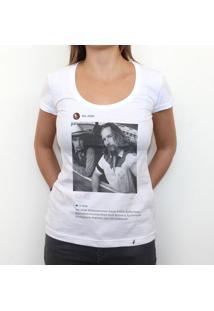 The Dude - Camiseta Clássica Feminina